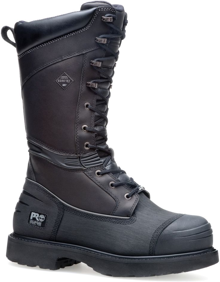 095557001 Timberland PRO Men's Mining Safety Boots - Black