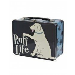 Ruff Life Tin Lunch Box by Little Blue House