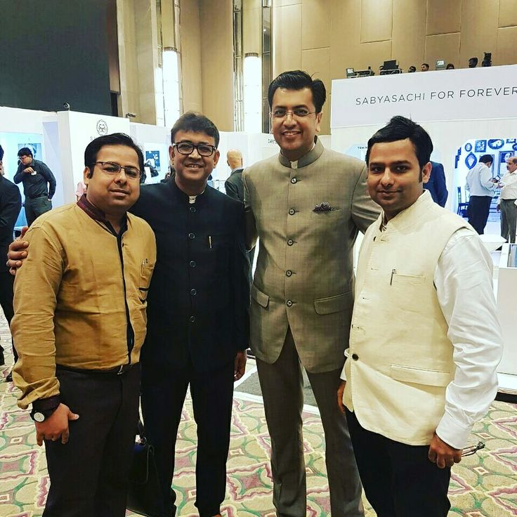 With Sachin Jain India head Forevermark Diamonds.