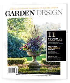 Garden design magazine- to check out. Autumn 2015 - Issue 192