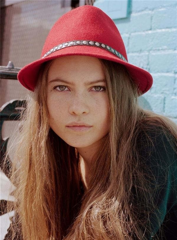 """""""Morning Beauty,"""" Behati Prinsloo by David MushegainFashion, Famous Models, Celeb, Red Hats, Behati Prinsloo, Commercials Models, Hats Attack, Everyday Hats, Hats Crushes"""