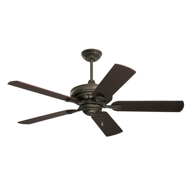 Emerson Bella 52-inch Golden Espresso Transitional Ceiling Fan with Reversible Blades (Golden Espresso), Brown (Metal)