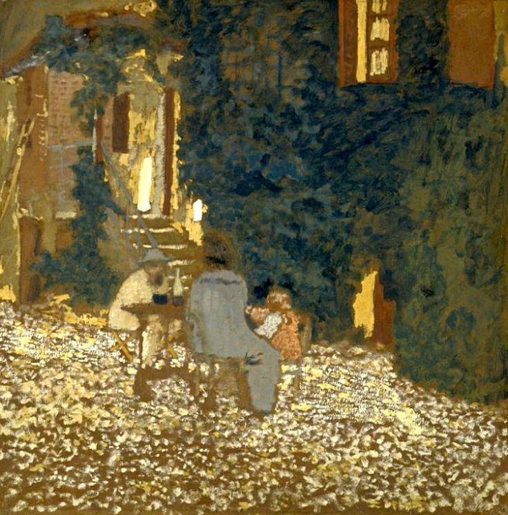 Édouard Vuillard / Repast in a Garden, 1898