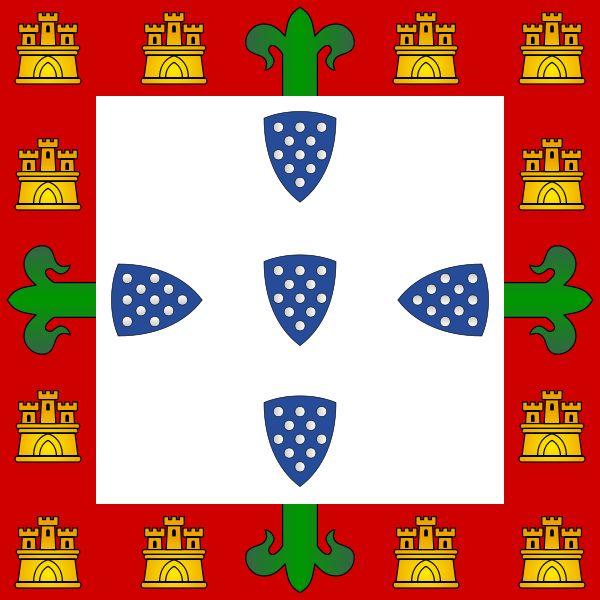 Bandeira portuguesa ( 1385-1485)
