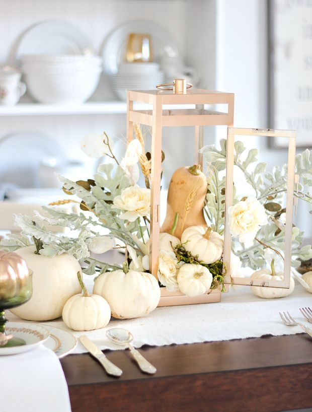 Farmhouse Fresh Fall Centerpieces   Page 3 Of 4. Dining Table CenterpiecesPumpkin  CenterpiecesDining TablesFall Decorations ...