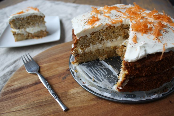 Friday Challenge en VLOG: Carrot Cake!