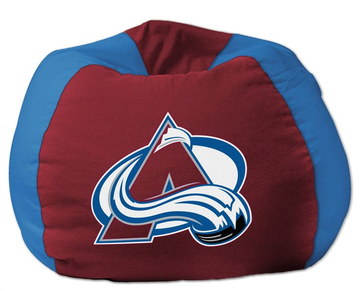 Avalanche OFFICIAL National Hockey League 102 Bean Bag Chair By The Northwest Company
