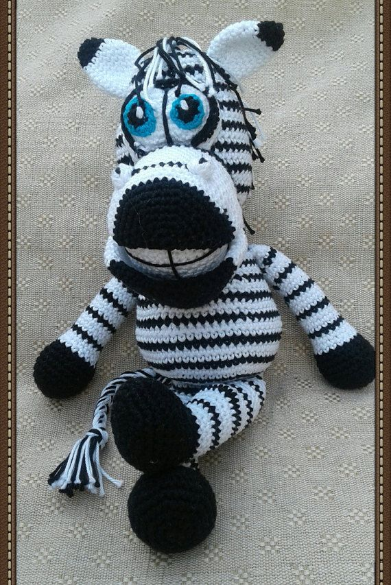 Hey, I found this really awesome Etsy listing at https://www.etsy.com/uk/listing/287156013/toy-zebra-crochet-zebra-toy-stuffed