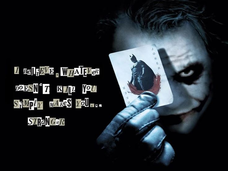 Whatever doesn 39 t kill you simply makes you stronger heath ledger joker wallpaper joker - Joker brand wallpaper ...