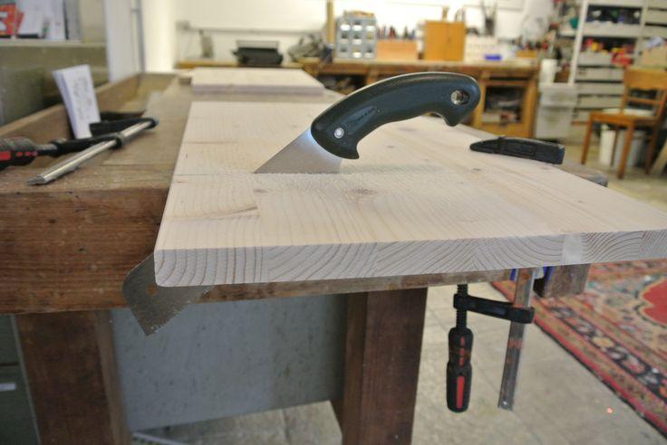 Bauen und Gestaltung eines Möbels