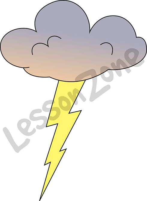 Boom! Crash! Make science come alive in your classroom with our range of weather-related clip art.   To download this illustration and view the full range, visit lessonzone.com.au