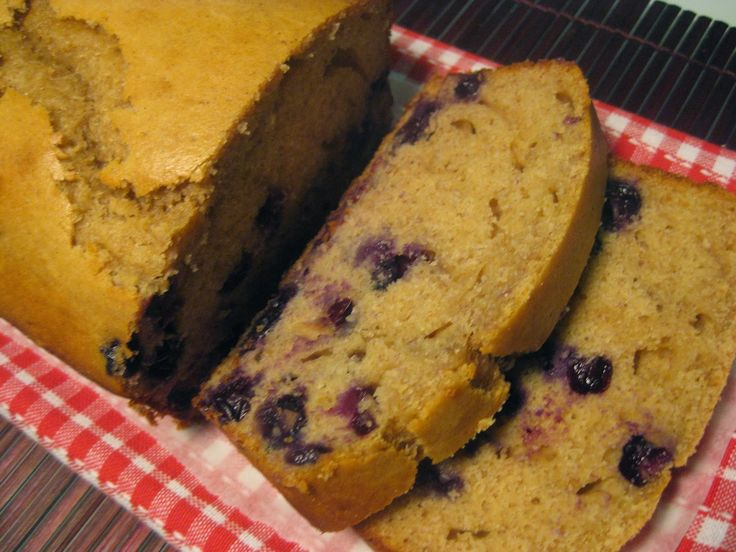 My Thermomix Kitchen - Blog for healthy low fat Weight Watchers friendly recipes for the Thermomix : Banana and Blueberry Bread