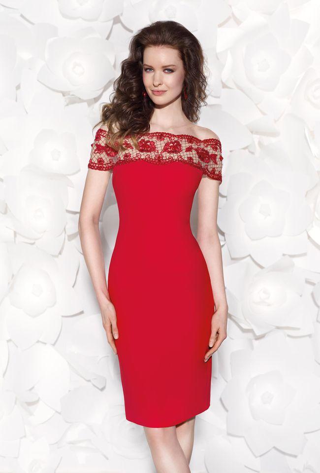 Tarik Ediz 90404 - $880.00. Fit. lace. short. dress