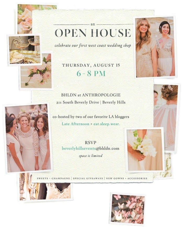 LA Open House at the BHLDN shop-in-shop with @Liz Cherkasova and @eat.sleep.wear.