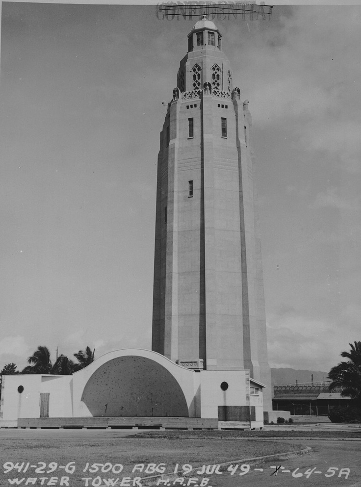 Freedom Tower at Hickam AFB Architecture Pinterest