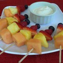Fresh Fruit Kebabs: Fruit Kebabs