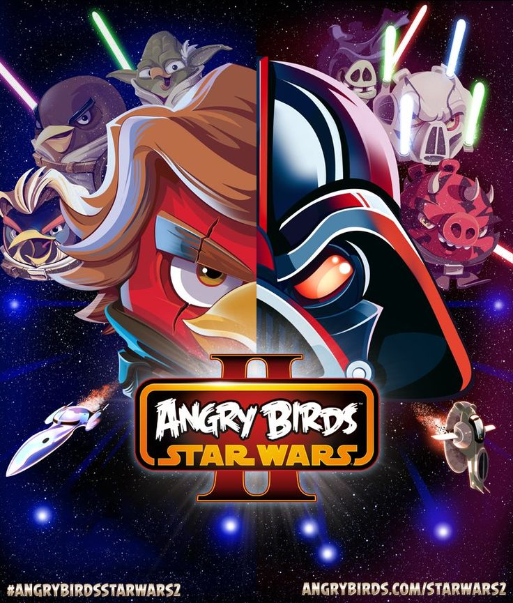 An Awesome Angry Birds Star Wars 2 Poster