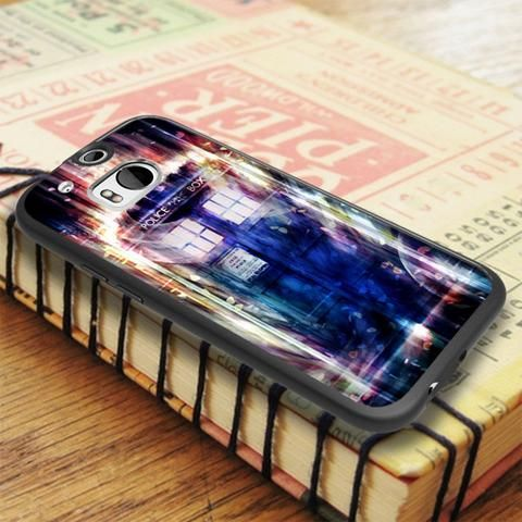 Tardis On Space Time HTC One M8 Case