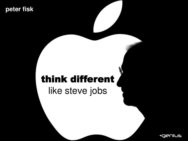Think Different like Steve Jobs: Leadership and Innovation by Peter Fisk