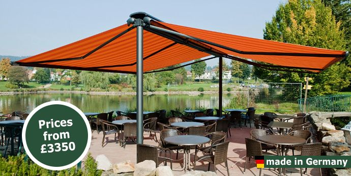 Markilux Syncra Self Supporting Patio Awning Markilux Retractable Awnings For Domestic Commercial Use Outdoor Awnings Patio Patio Awning