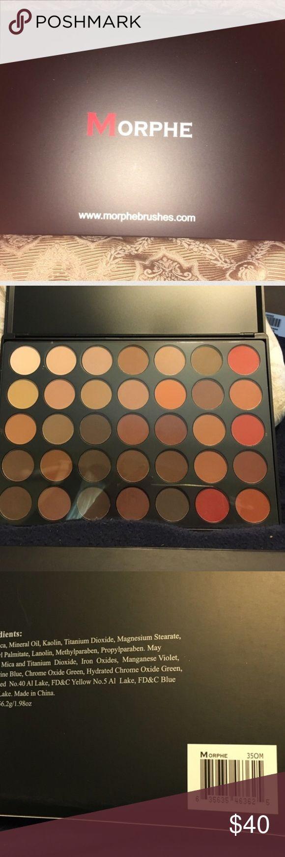 BNIB Morphe 350 Matte Palette BNIB Morphe 350 Matte Palette Makeup Eyeshadow