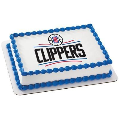 Los Angeles Clippers NBA Edible Cake, Cupcake & Cookie Topper