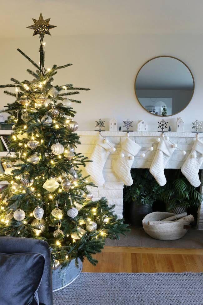 European Fir Artificial Christmas Tree Balsam Hill In 2020 Fir Christmas Tree Christmas Decorations Rustic Rustic Christmas