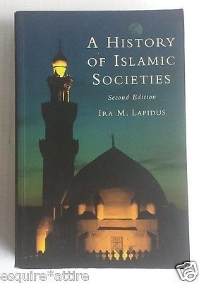 A History of Islamic Socie#ties by Lapidus, Ira M. visit our ebay store at  http://stores.ebay.com/esquirestore