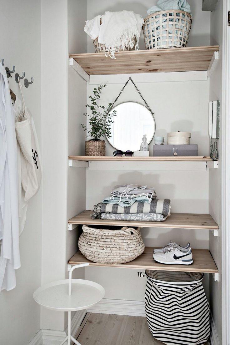 Opbergen   ELLE Decoration NL étagères minimalistes....