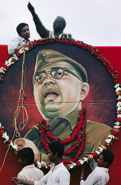 Anniversary Celebration of the Bengali Hero Subhas Chandra Bose, Calcutta, West Bengal