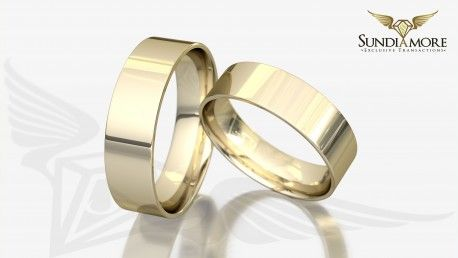 Obrączki ślubne - Tradycyjne
