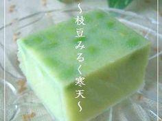 ◆夏のデザート◆枝豆みるく寒天の画像