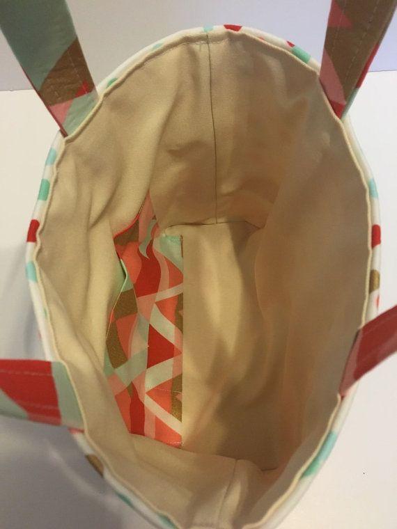 Scrittura Tote / Bag piccolo sacchetto di FamLeeTreasures su Etsy