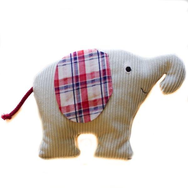 Körnerkissen Elefant (Wärmekissen) von LanasWelt auf DaWanda.com