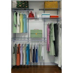 Attrayant Closetmaid Shelftrack 4 Drawer Kit Nickel