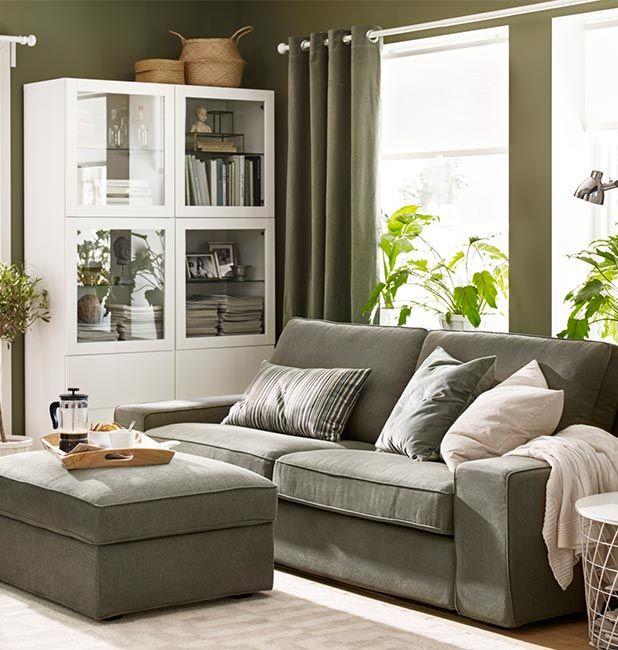 IKEA Hoezen voor KIVIK banken en fauteuils  Online verkrijgbaar