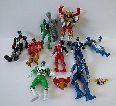 Power Rangers Bandai Lot Super Megaforce SPD Morphin Figures