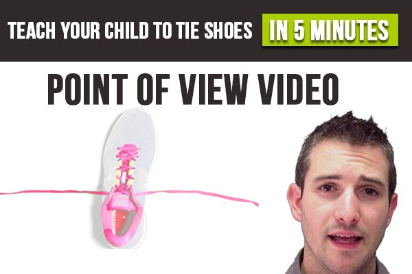 A New Way To Teach Your Child To Tie Shoes