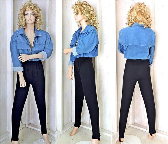 72a106b54563 Denim jumpsuit size S   80s denim jumpsuit womens   one piece denim pantsuit