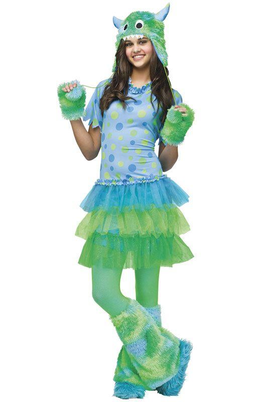 monster miss teen costume - Fun Teenage Halloween Costumes