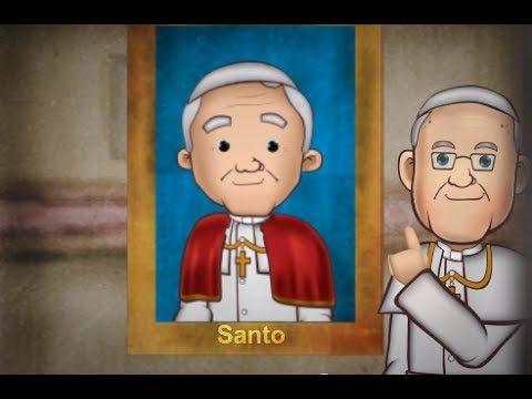 San Juan Pablo II, la vida de un papa santo en animación!!! :)