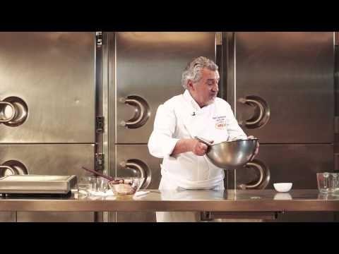 Crema de caramelo y nueces por Paco Torreblanca y Chocolates Valor