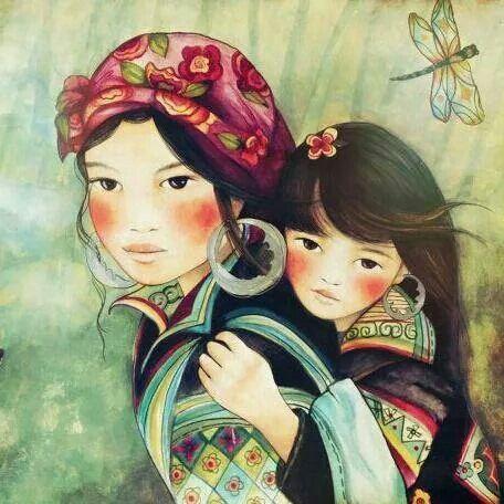 Mama y niña