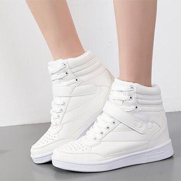 Top Sneakers Casual Platform Flat Shoes