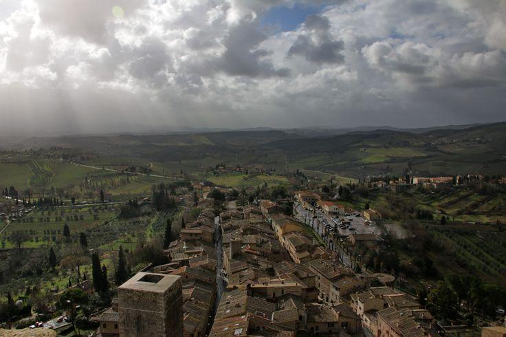 San Gimignano. What a magical place.