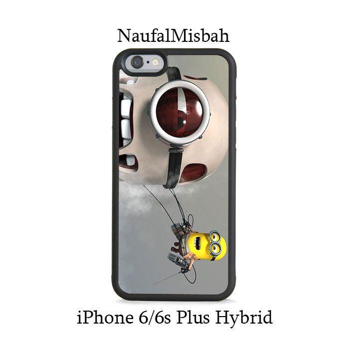 Shingeki no Despicable Me Minion iPhone 6/6s PLUS HYBRID Case Cover