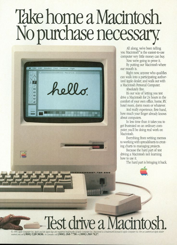 analysis of apples 1984 commercial Think different was an advertising slogan for  it was used in a television commercial,  apple's famous 1984 commercial was created by advertising agency.