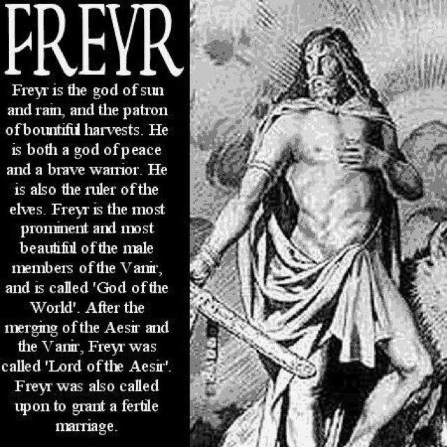 Freyr -- Vikings - Norse mythology