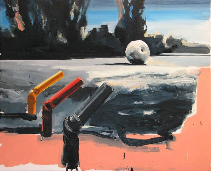 "Saatchi Art Artist Robert Bubel; Painting, ""'What a strange holiday, Dad'"" #art"