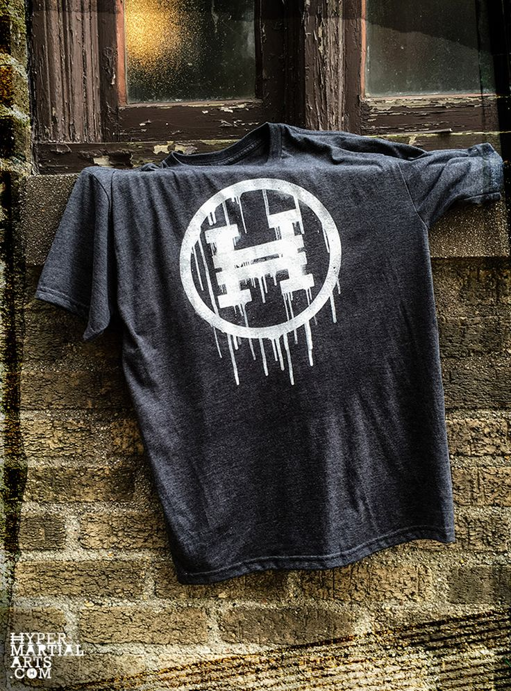 Art has no rules. Street art breaks all rules. Hyper rules. Hyper REVOLT tee is the perfect shirt for the creative rebel martial arts athlete.